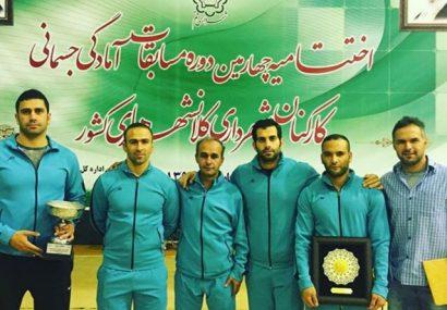 کرج مقام سوم مسابقات آمادگی جسمانی کارکنان شهرداری کلانشهر های کشور را کسب کرد