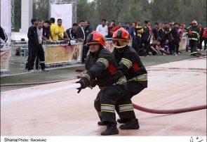 چهارمین دوره مسابقات آتش نشانان صنعت پتروشیمی برگزار شد