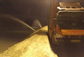 تشریح اقدامات آتشنشانی در مناطق سیلزده خوزستان