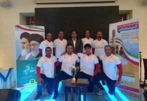 تیم عملیاتی ورزشی آتشنشانی کرج عنوان سوم کشور را کسب کرد