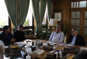 اعضای هیأت اجرایی کمیته ملی المپیک با شهردار تهران دیدار و گفتگو کردند