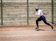 تمرین ۱۰۰ متر با مانع آتشنشانان توسط روح الله محمدی