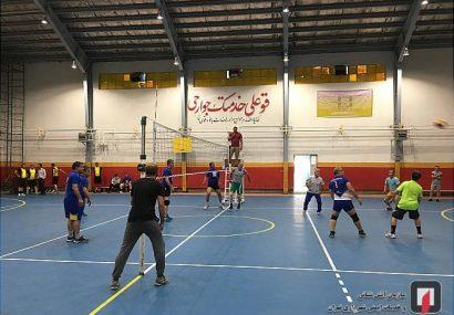 برگزاری مسابقات والیبال مدیران سازمان آتش نشانی تهران