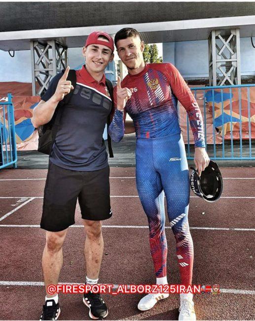 ولادمیر سیدرنکو قهرمان ۱۰۰ متر عملیاتی ورزشی آتشنشانان جهان شد