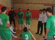 قهرمانی منطقه ۵ عملیات در مسابقات داخلی فوتسال سازمان آتش نشانی تهران
