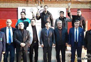 سازمان آتش نشانی تهران در مسابقات وزنه برداری به مقام نخست دست یافت