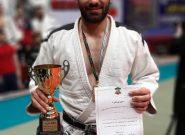 آتشنشان کرجی بر سکوی سوم مسابقات جودوی قهرمانی کشور ایستاد